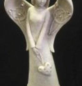Sheltering Celtic Angel with Heart