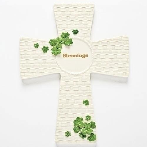 Irish Blessings Wall Cross