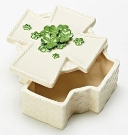 Irish Cross Keepsake Box