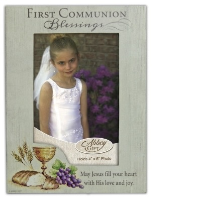 First Communion Frame with Easel