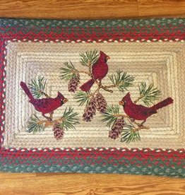 "Capitol Earth Rugs Cardinals 20""x30"" Rug"