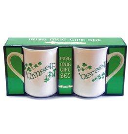 Irish Himself/Herself Mug Gift Set