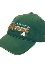 Celtic Nation Ireland Baseball Cap, Green/Gold