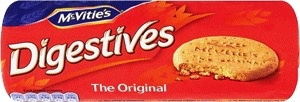 McVitie's Digestives - The Original Wheat Biscuit, 400g