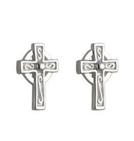 S/S Tiny Cross Stud Earrings