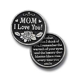 Mom I Love You Pocket Token
