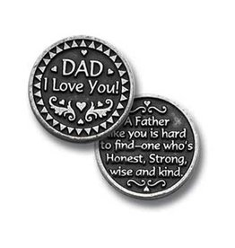 Dad I Love You Pocket Token