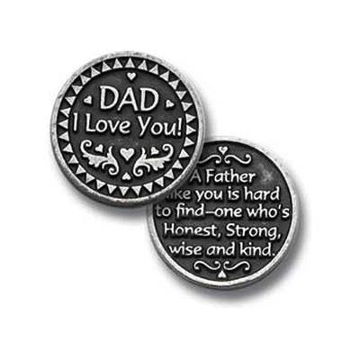 Dad I Love You Pocket Token