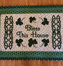 "Capitol Earth Rugs Bless This House Rug, 20""x30"""