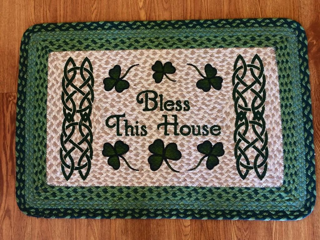 """Capitol Earth Rugs Bless This House Rug, 20""""x30"""""""
