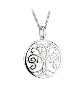S/S Celtic Tree of Life Pendant
