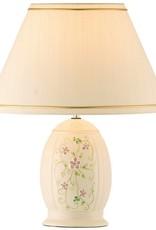 Belleek Irish Flax Lamp & Shade