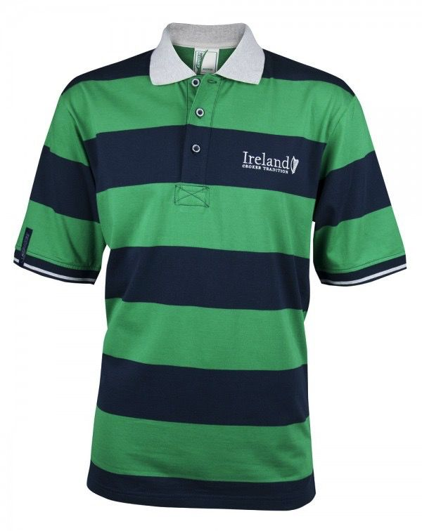 Croker Harp Striped Polo Shirt