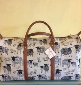 Tapestry Big Holdall Bag, Sheep & Daisy