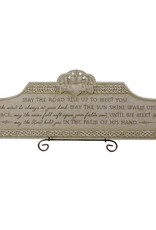 """Claddagh """"May the Road.."""" over the door plaque"""