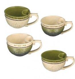 Celtic Teacup with Bag Holder