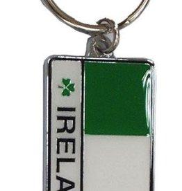 Ireland Tricolor Keyring