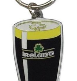 Pint of Stout Keyring