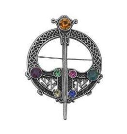 Large Celtic Tara Brooch