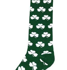 Irish Green Shamrock Dress Socks