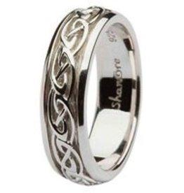 Ladies Celtic Knot Wedding Ring