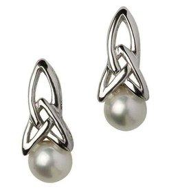 S/S Trinity Pearl Earrings