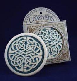 Seneca Ceramics Celtic Knot Coaster