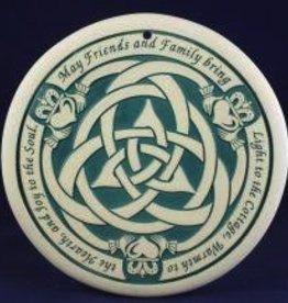Seneca Ceramics Friends & Family Celtic Knot Bread Warmer