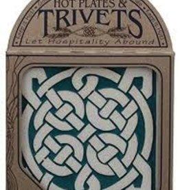 Seneca Ceramics Celtic Knot Trivet - 6in.