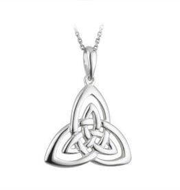 S/S Open Trinity Knot Pendant