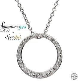 S/S SW Circle Pendant