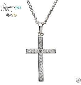 S/S Swarovski Cross Necklace