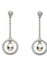 S/S Swarovski Pearl Drop Earrings