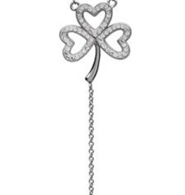 S/S Swarovski Shamrock Necklace