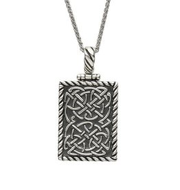S/S Celtic Dog Tag Necklace