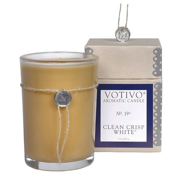 Clean Crisp White Votivo Candle No. 19