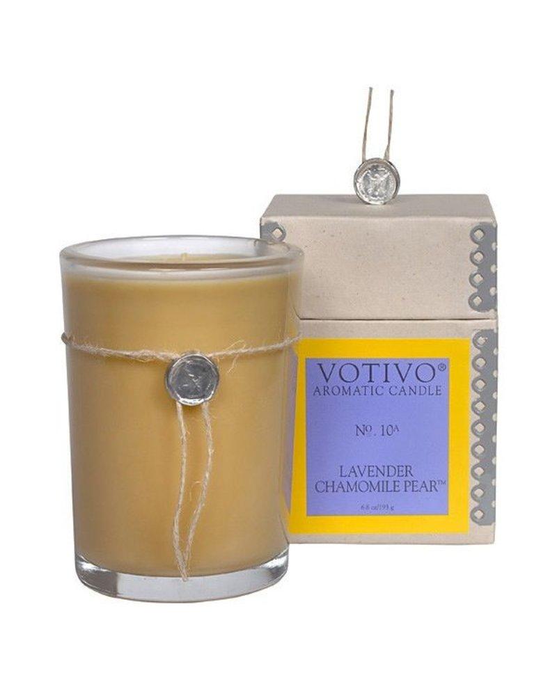Lavender Chamomile Pear Votivo Candle No. 10 DISCO