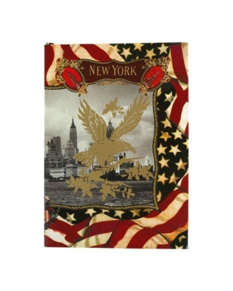 New York Christian Lacroix Ruled A5 Notebook
