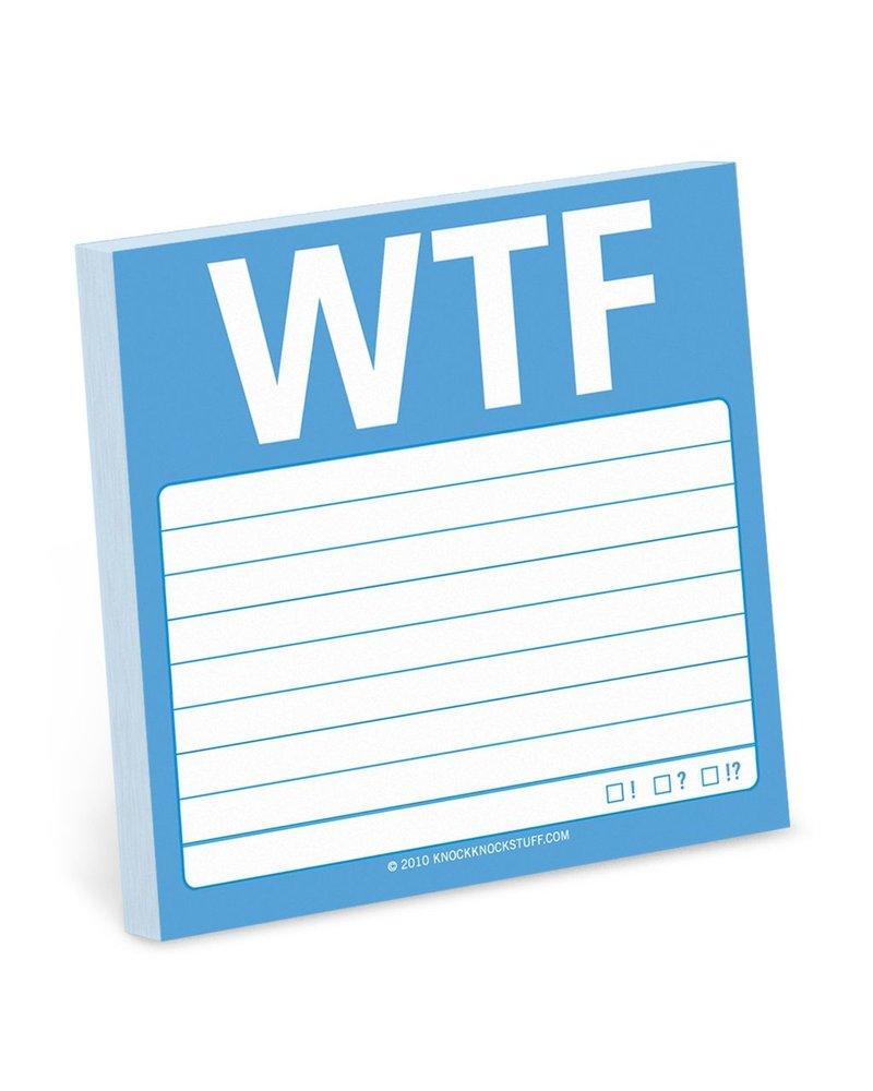WTF Sticky Note Pad