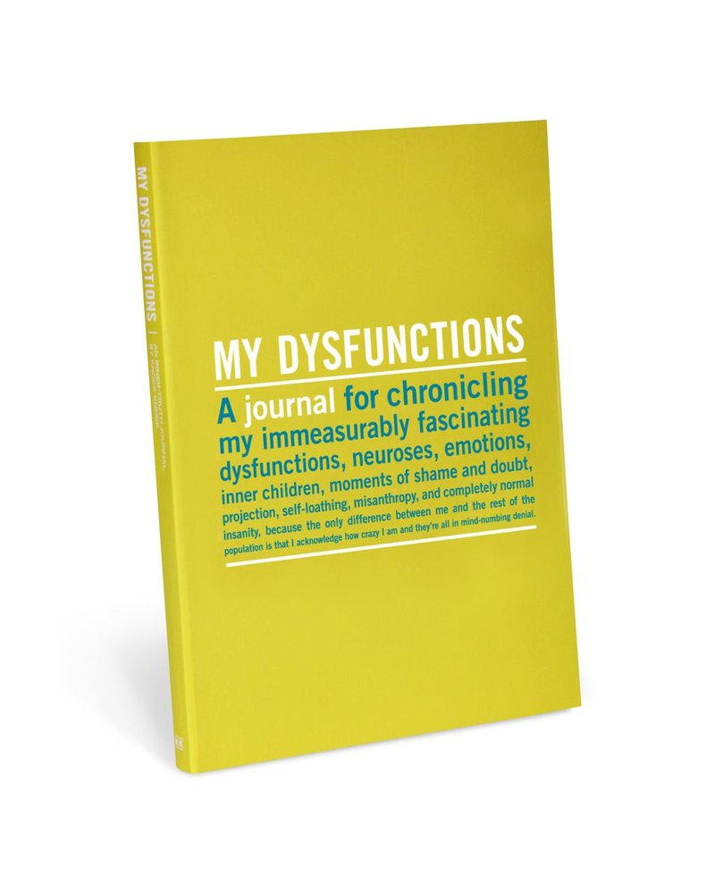 My Dysfunctions Writing Journal