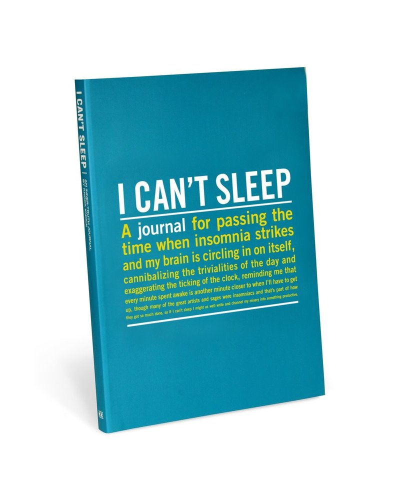 I Can't Sleep Journal DISCO