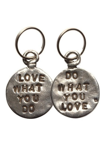 Love Do Pewter Coin Keychain