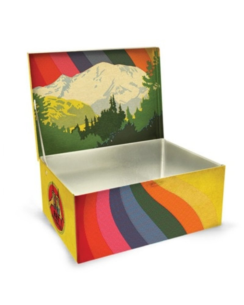 Novelty Art Supplies Tin Cigar Box