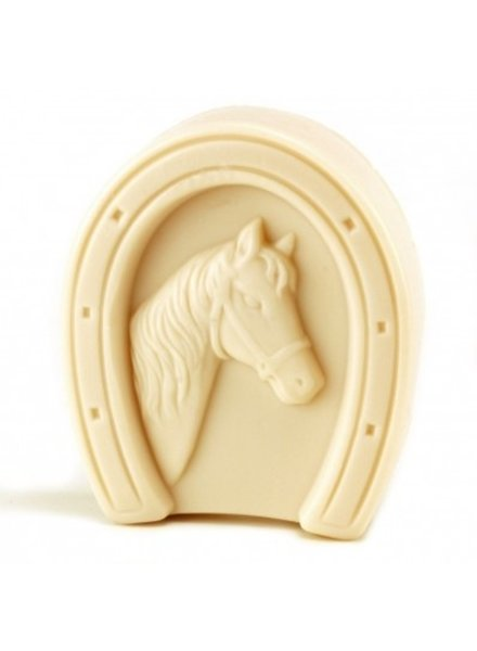 """European Soaps Horseshoe Puck of """"Lucky"""" Almond Soap, 75g"""