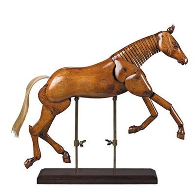 Authentic Models Artist Horse Model Med. 10x10