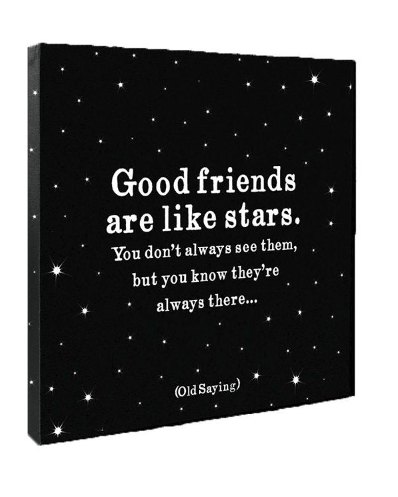 Quotable Cards Quotable Canvas 12x12-Good Friends Are...
