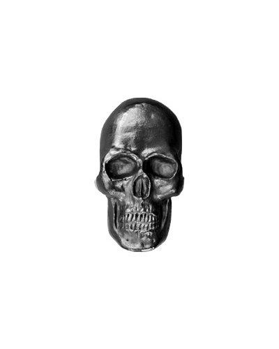 Sculptural Graphite Pen-Skull Curio