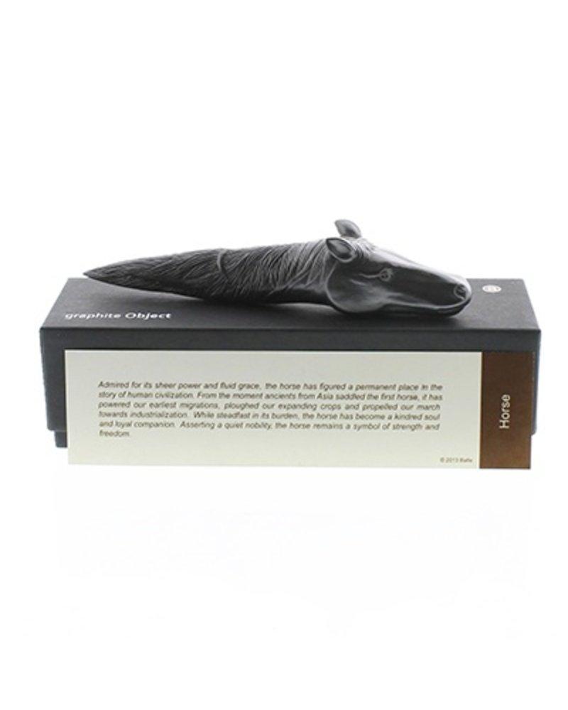 Sculptural Graphite Pen-Horse Lg