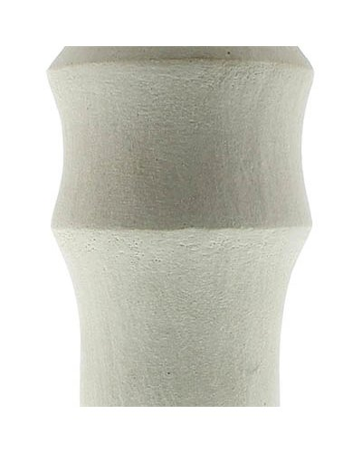 Fired Clay Vessel - Ruth White 14 inches