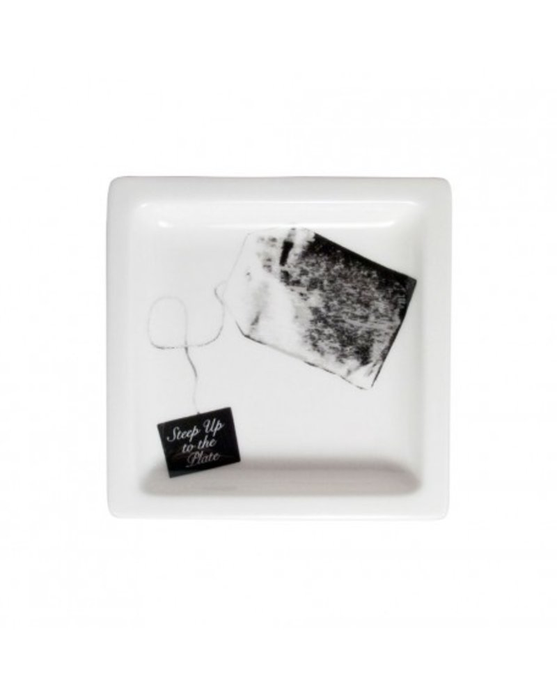 Steep Up To The Plate Teabag Rest Tray